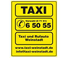 taxi-weinstadt